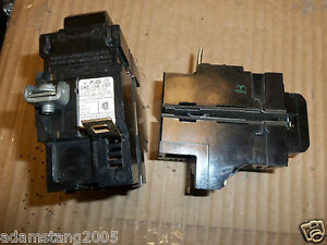 PUSHMATIC ITE Bulldog P220 2 Pole 20 Amp Breaker NO SCREWS OR LUGS Flawed