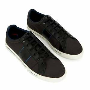 Ted-Baker-Mens-Epprod-Textile-Mix-Trainers-Black