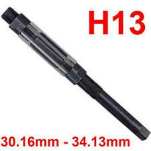 """30.16-34.13mm Best Quality H13 Adjustable Hand Reamer 1-3//16/"""" to 1-11//32/"""""""