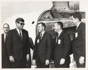 NASA Original 7 Seven Astronauts-Mercury Space Program-1963 Photo QUALITY