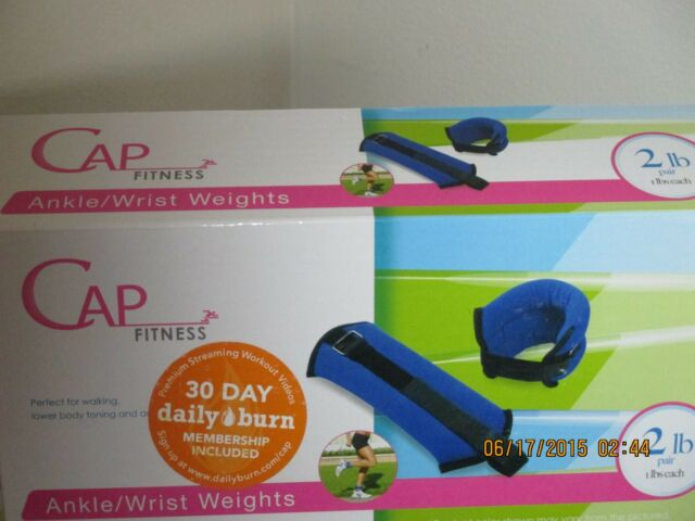 CAP Fitness Ankle/Wrist Weights 2lb.Pair  Free Shipping