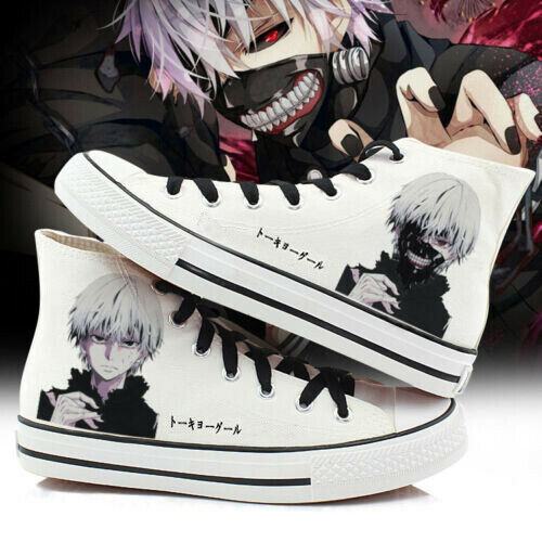 Anime Tokyo Ghoul High-top Canvas Shoes Shoes Casual Single Shoes