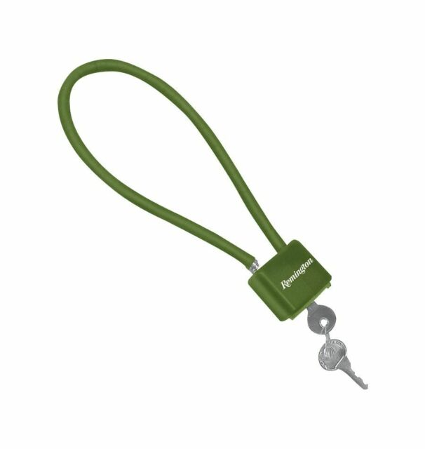 Remington Cable Lock Green California Approved #18364