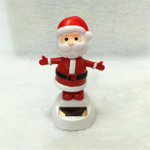 33 Types Cute Solar Powered Dancing Toys For Table Desk Home Car Xmas Decor