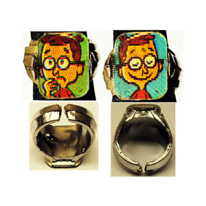 Rare-1960-039-s-Bullwinkle-Sherman-Gumball-Prize-Flicker-Ring