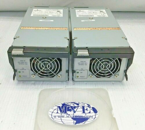 LOT 2 ARISTA DS2900-3 PWR-2900AC PWR-75-2900AC 7500 SERIES 2900W POWER SUPPLY