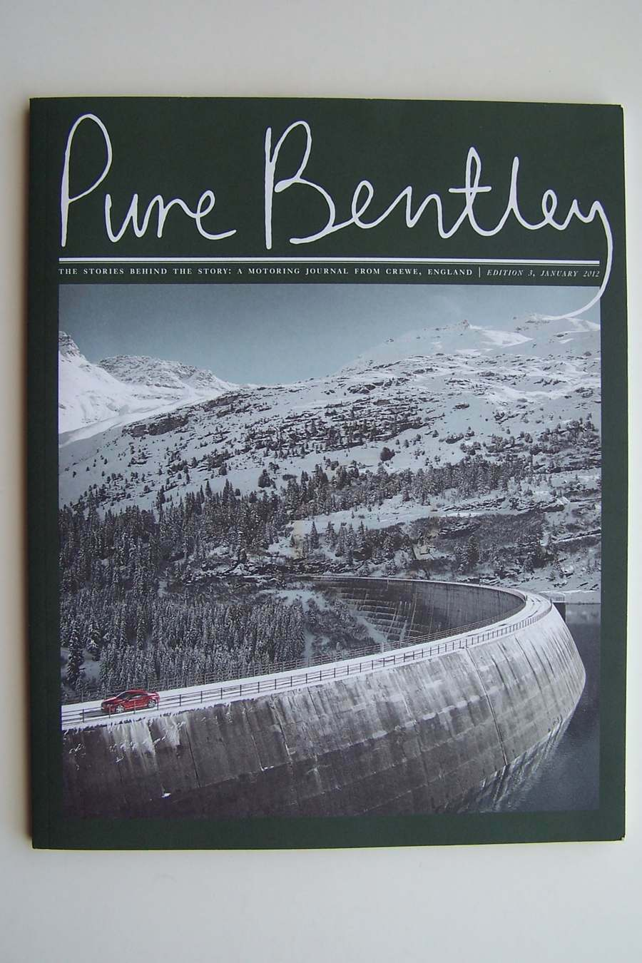 Pure Bentley Motoring Journal from Crewe England: The S