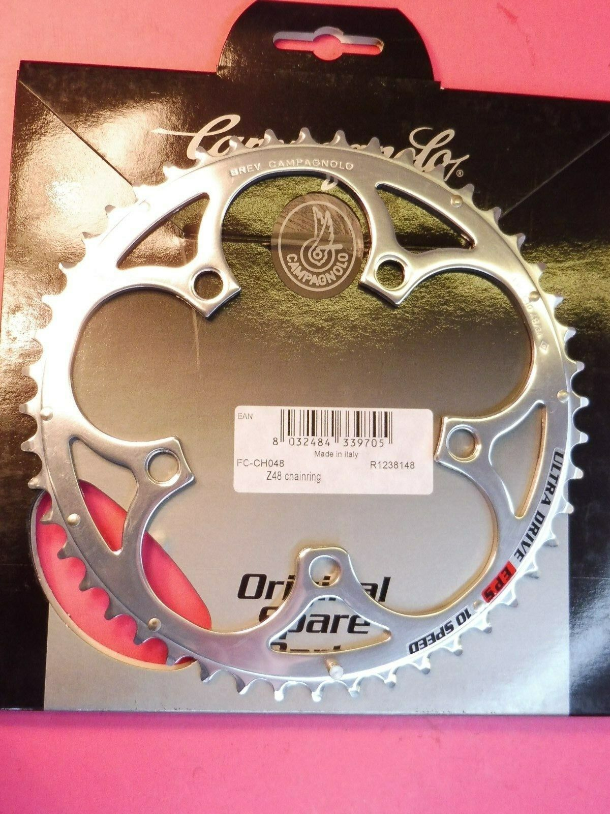 Campagnolo   Chorus    CT 10 Speed - 48 t  ( 48   34 ) chainring   NOS L'eroica  online outlet sale