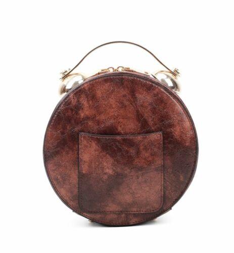 UK Women/'s Ladies Stylish And Unique Woman Clock Hand Bag//Shoulder Bag 6 Colours