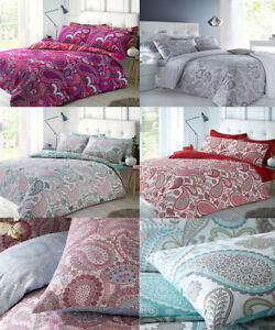 Duvet Covers Bedding Paisley Indian Summer Bed Sheets