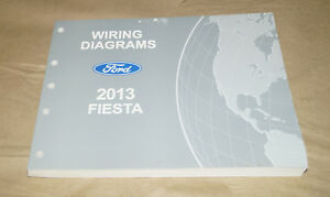 2013 ford fiesta evtm wiring diagrams service manual book sf 5142 ebayimage is loading 2013 ford fiesta evtm wiring diagrams service manual