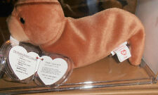 """MWMT MQ Authenticated RARE CANADIAN """"Tuck"""" Tusk Oddity - Ty Beanie Baby"""