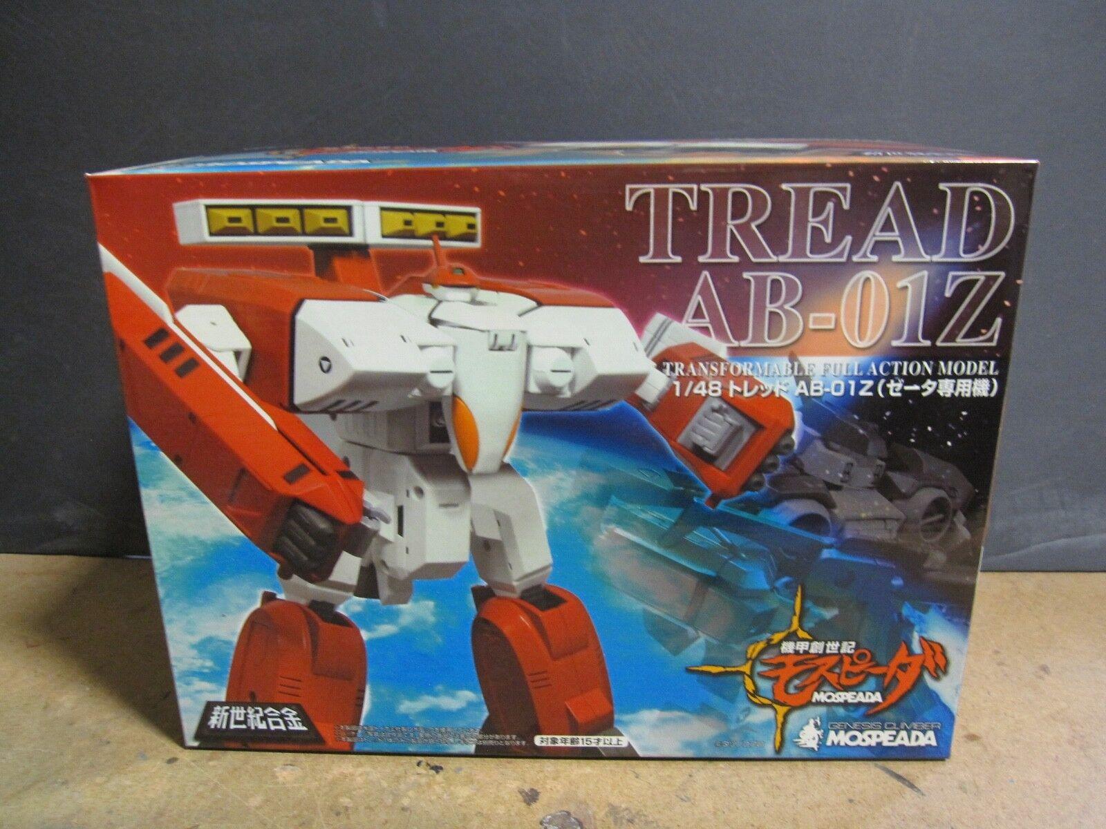 Pisada del Genesis Climber Mospeada AB-01Z - Rojo NUEVO MIB Aoshima Beta