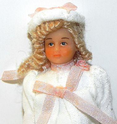 Dollhouse Miniature Girl Doll Sister Sophie Drummond Vinyl SD0005  1:12