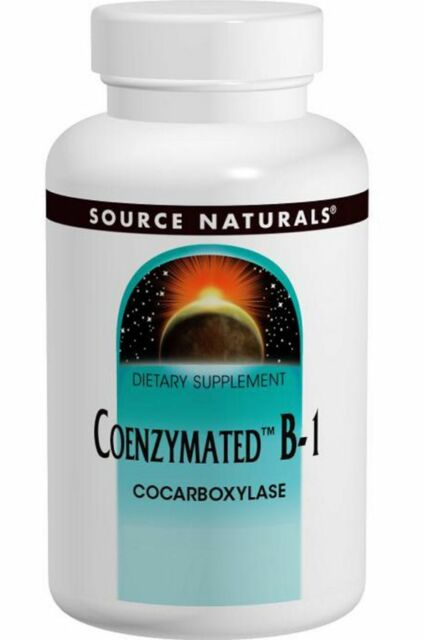 NEW SOURCE NATURALS COENZYMATED B-1 VITAMIN SUPPLEMENT SUBLINGUAL 60 TABLETS