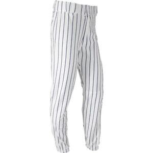 Champro Youth Pinstripe Baseball Pants White   Navy Lg