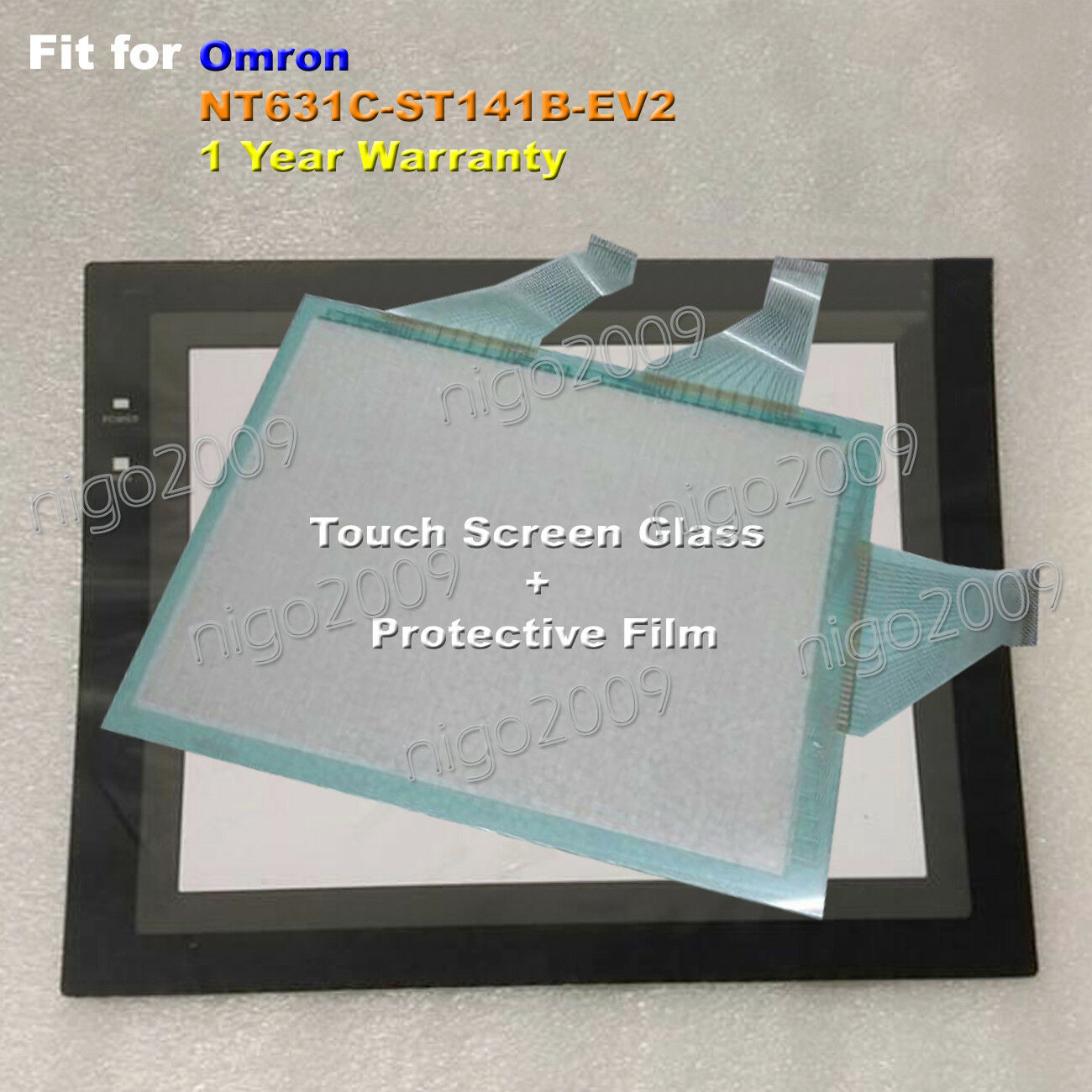 Fit For Omron NT631C-ST141B-EV2 Touch Screen Glass + Screen Predective Film