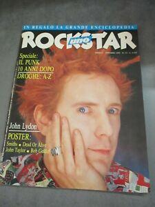 ROCKSTAR-n-73-1986-POSTER-SMITHS-JOHN-TAYLOR-IL-PUNK-10-ANNI-DOPO-JOHN-LYDON