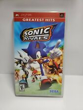 Sonic Rivals Usa Sony Playstation Portable Psp Complete Tested For Sale Online