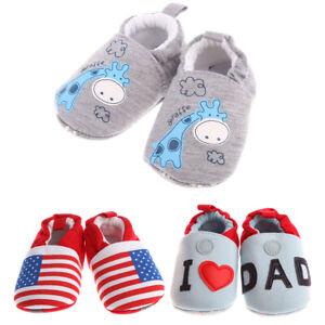 Soft Sole Baby Shoes Crib Boy Girl