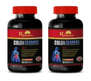 Details About Colon Detox Cleanse Weight Loss Colon Cleanse Complex 2b Ginger Capsules