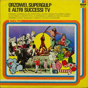LP 33 Orzowei, Supergulp E Altri Successi TV Oliver Onions Morandi Lauzi Toffolo