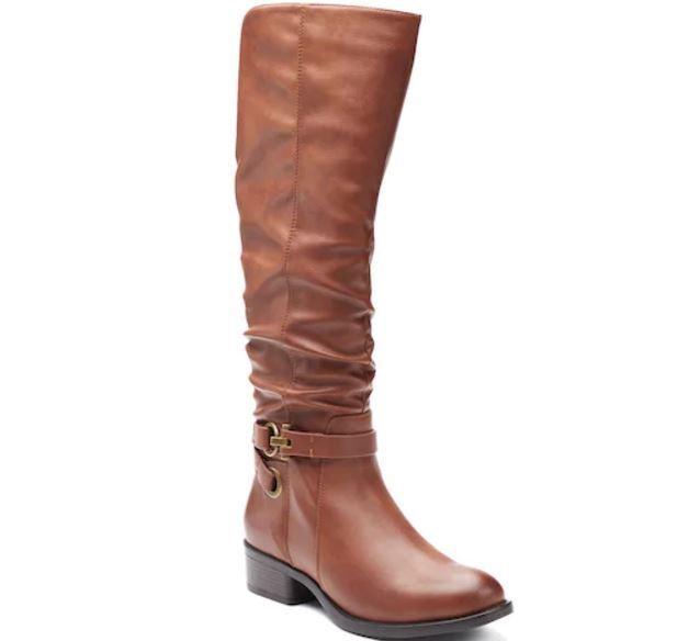 Solde Neuf avec Étiquettes femmes Apt. 9 Docteur bottes Hauteur Genou chaussures