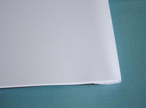 Leinen weiß Thermobindemappen Bindemappen 10,0 mm
