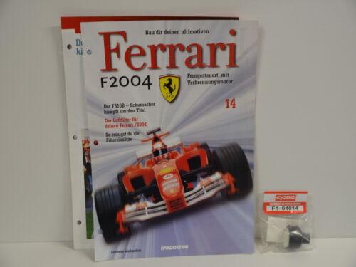 Ferrari F2004 DeAgostini Kyosho aussuchen aus verschiedene Nummern