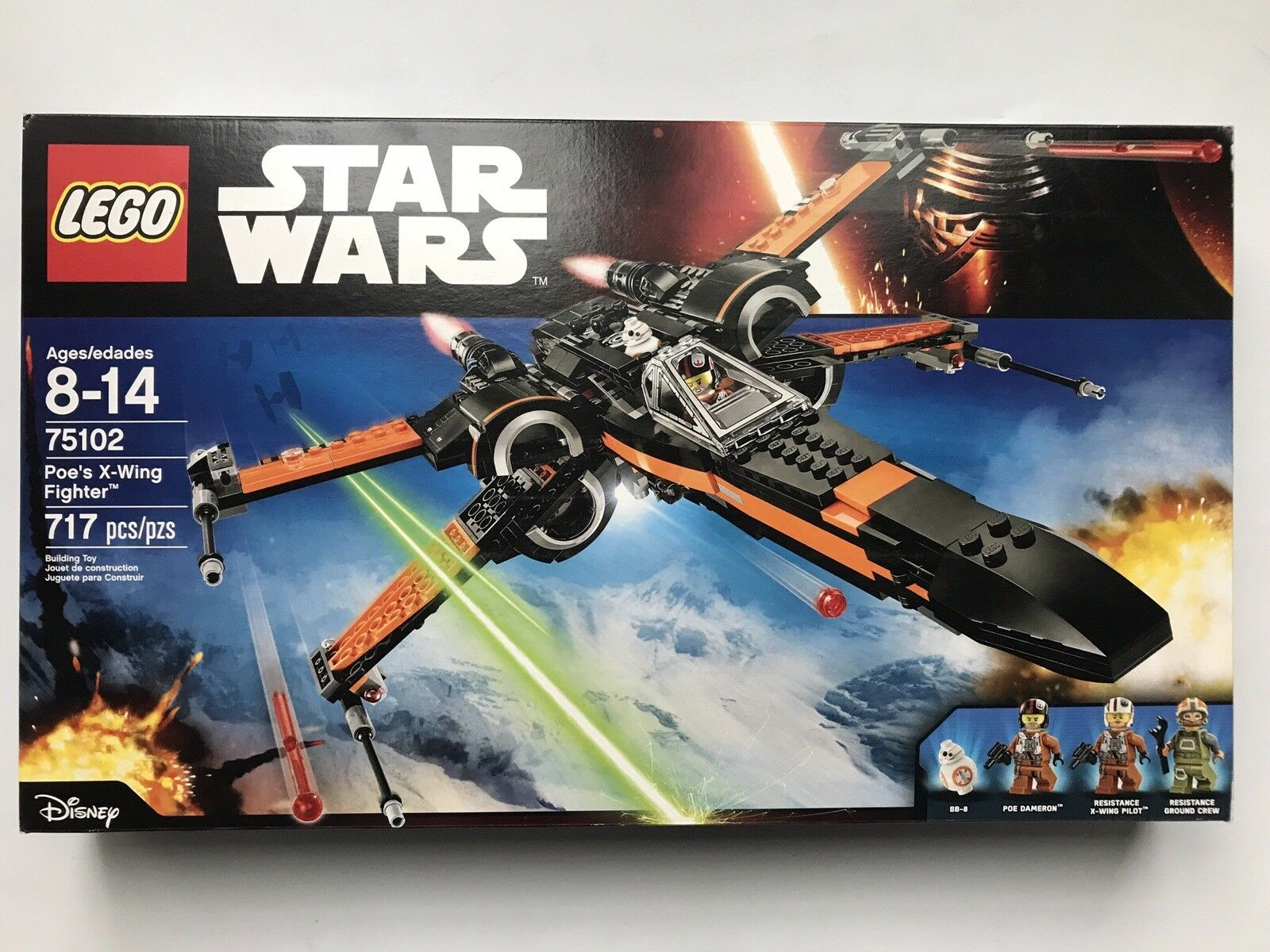 LEGO 75102 Poe's X-Wing Fighter Star Wars - - - New Sealed