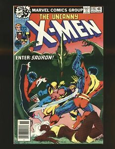 Uncanny-X-Men-115-VF-8-0-Wolverine-Sauron-Returns