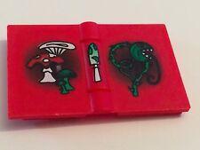 *NEW* 1 Piece Lego Minifig Utensil RED Book Harry Potter MUSHROOMS VINE Pattern