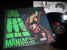 "Limbomaniacs ‎""Stinky Grooves"" LP inner In-Effect ‎– 88561-3015-1 Usa 1990"