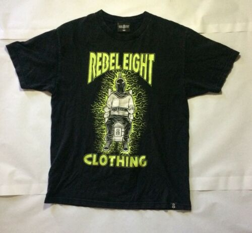 Rebel Eight Clothing Mens Electric Chair Edgy Grun