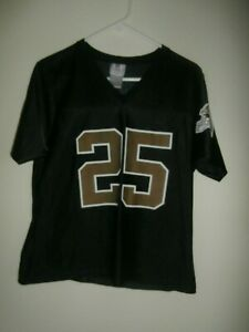 NFL Women's saints jersey #25 Reggie Bush size L   eBay