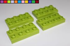 Lego Konverter Platte 2x6x2//3 grün 3 Stück »NEU« # 87609