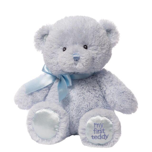 Gund 4043950 Baby My First Teddy Small Blue