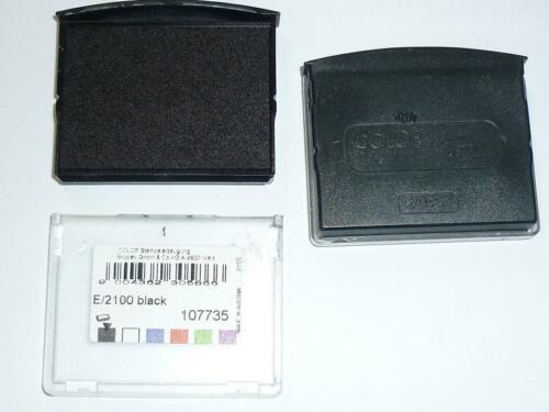 Colop spare stamp ink pad E//2100 for Classic 2100 2100//3 2100//4 2106 2161 BLACK