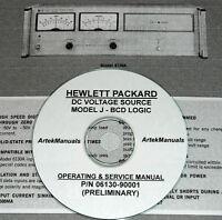 Hp 6130a Power Supply Operator & Service Manual