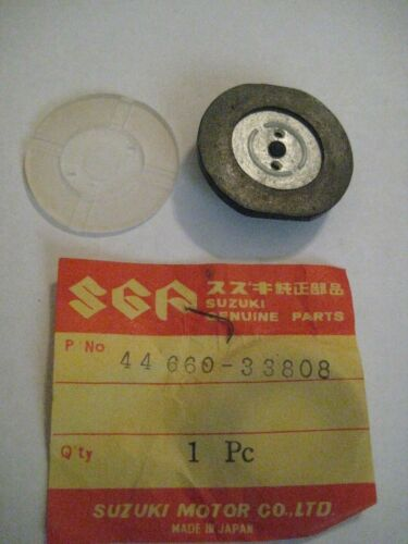 SUZUKI TS400//250//185//125//100//90//TC//TM75//RV//GT OIL TANK CAP GASKET SET NOS!