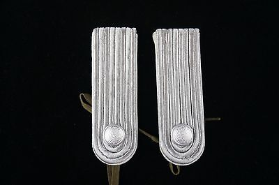 East German Shoulder Board Set, LT, With Buttons and Ties.