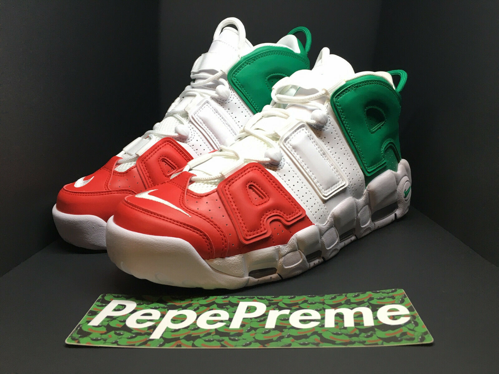 NEW Nike Air More Uptempo 96  QS Milan Europe Pack AV3811 600 Sz 11.5