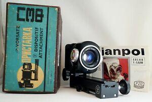 PZF-Macro-Tube-Attachment-Bellows-M42-Boxed-amp-JANPOL-COLOR-PZO-80mm-Zoom-Lens