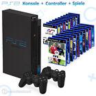 Sony Playstation 2 / PS2 - Konsole inkl. Controller + viele Spiele