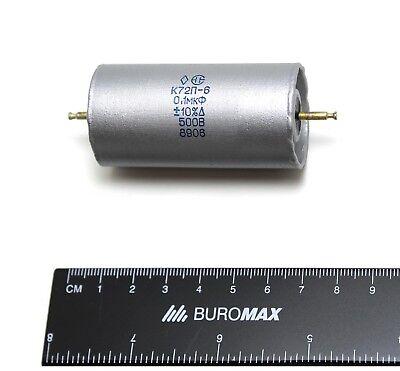 4 pcs 0.01uF 0,01uF .01uF 500V 5/% teflon capacitors K72P-6 Audio NOS