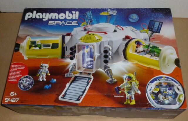 Playmobil Space Mars Space Station with Figures & Accessories  - not played with
