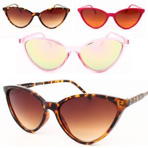 zapatos de separación a3140 cad19 Detalles de Nuevo Retro Vintage Mujer Cat Eye Gafas de Sol Años 80 Moderno  Gafas