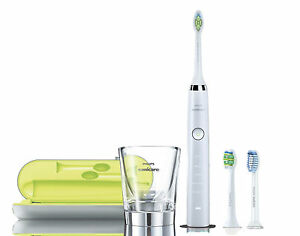 Details about Philips Sonicare Diamond Clean White HX933204 Electric Toothbrush + FREE Bonus