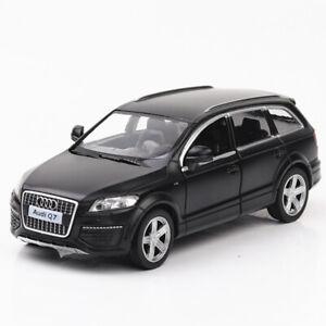 1-36-Audi-Q7-Metall-Die-Cast-Modellauto-Auto-Spielzeug-Model-Sammlung-Schwarz