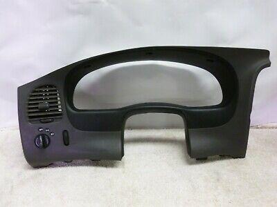 95-01 Ford Ranger Explorer Dash Instrument Cluster Bezel Trim Gray Black OEM
